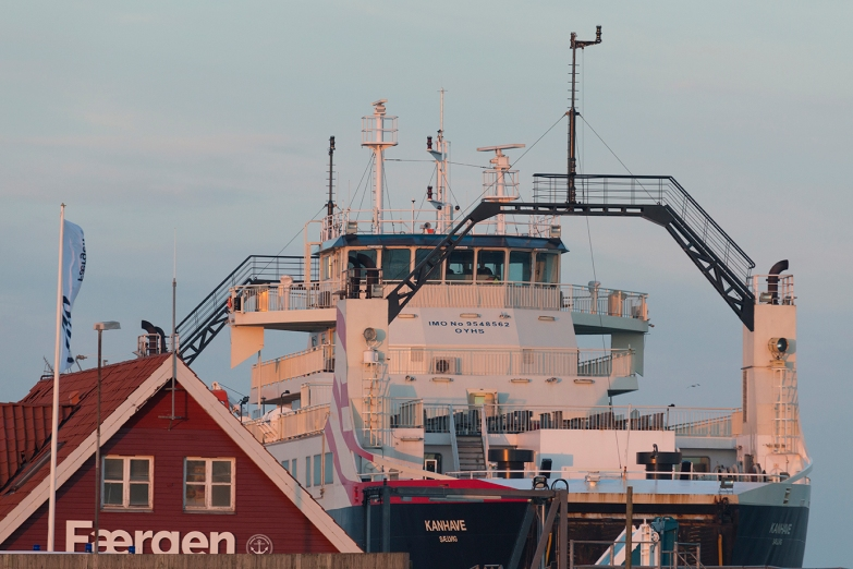 Here berthed in Sælvig.