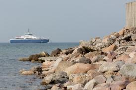 PRINSESSE ISABELLA, here under its original name SAMSØ, arrives Sælvig form Jutland.