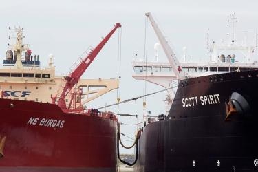 Ship-to-ship operation, 2017