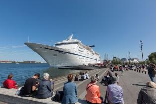 MAGELLAN at the cruise terminal.