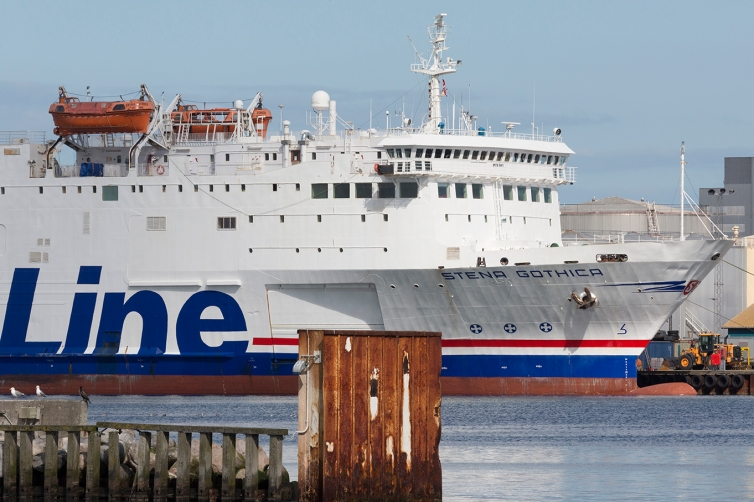 STENA GOTHICA as a stand-in for STENA NAUTICA